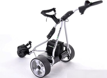 Lithium Electric golf trolley