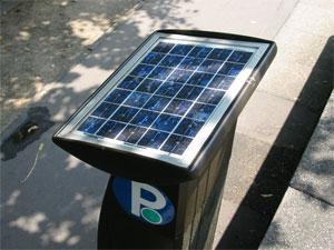 Standalone parking meter