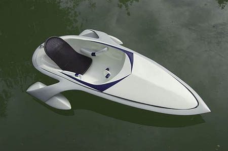 Electric boat with Lithium battery