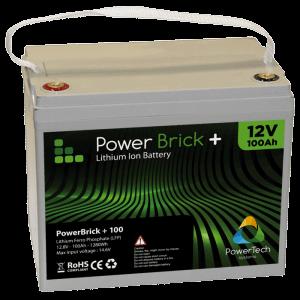 PowerBrick+ 12V - 100Ah - Lithium Ion