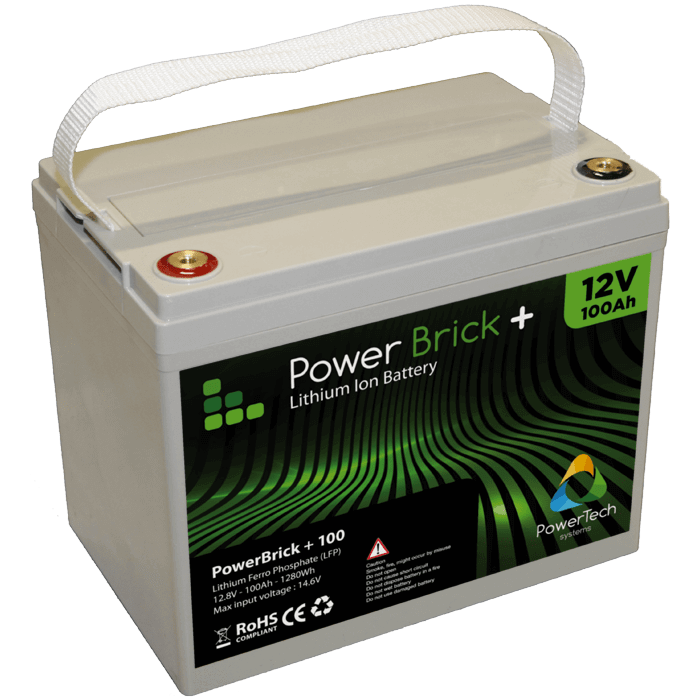 Lithium Ion Battery Pack PowerBrick 100A...