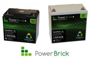 batteries 12V PowerBrick+ Lithium-Ion