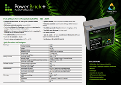 Download PowerBrick+ Specifications