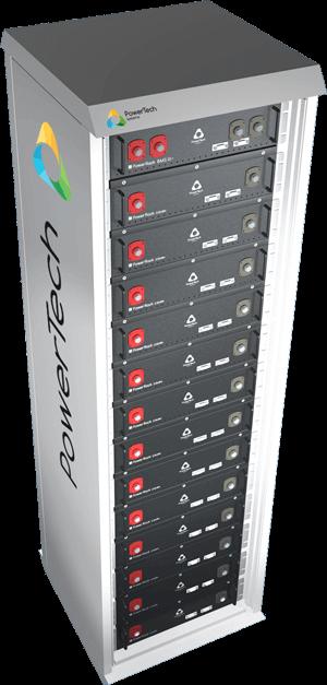 Powerrack Lithium Ion Energy Storage System Modular