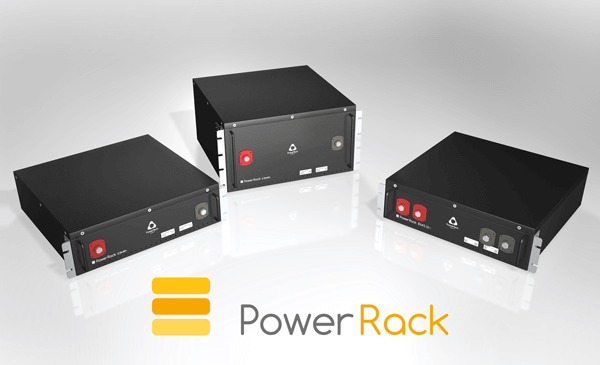 19 inches Lithium-Ion battery system - PowerRack