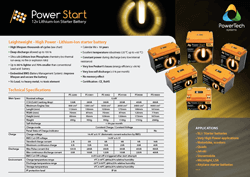 Download PowerStart product specs