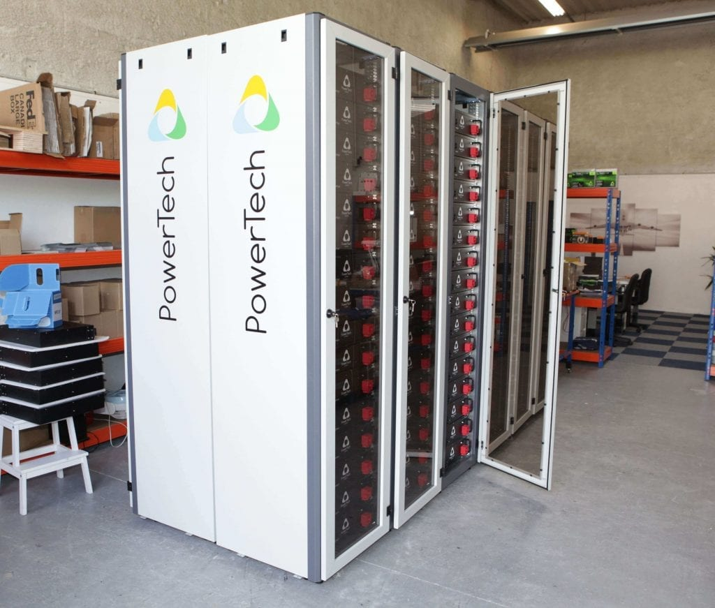 Powerrack Lithium Ion Energy Storage System Modular