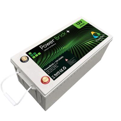 PowerBrick 12V-250Ah LiFePO4 battery