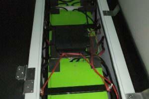 Marine Battery – 24V – 330Ah – 6 x PowerModule® in 2S3P assembly