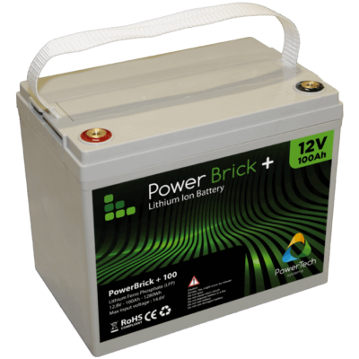 PowerBrick+ 12V-100Ah LiFePO4