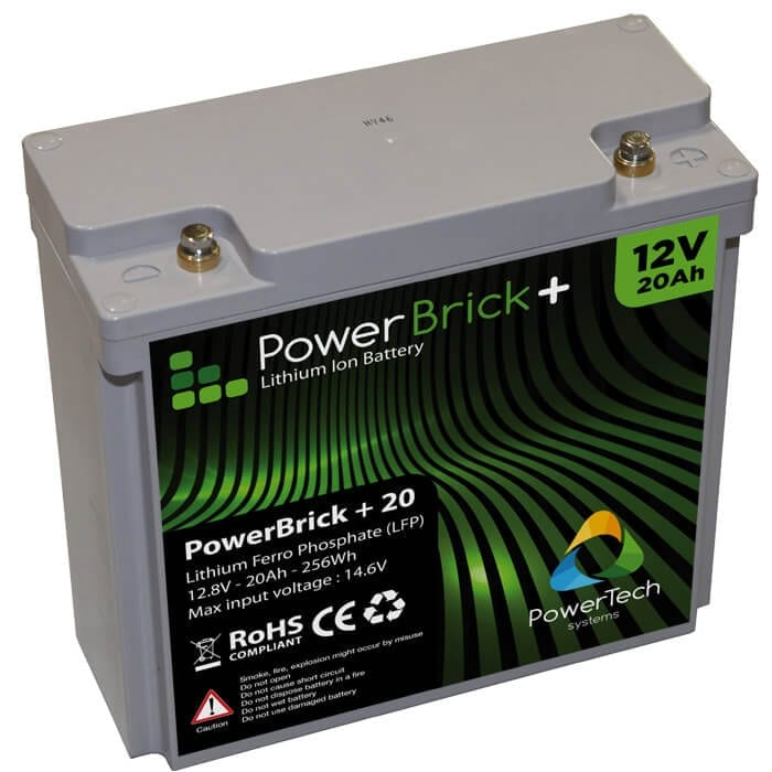 PowerBrick+ 12V-20Ah LiFePO4