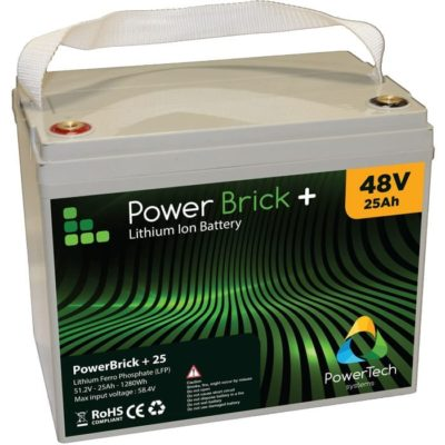 PowerBrick+ 48V-25Ah LiFePO4