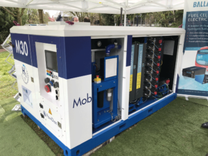 Hydrogen mobile electricity generator MobHylpower