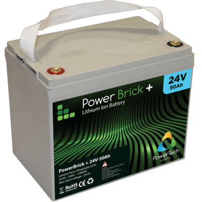 PowerBrick+ 24V-50Ah LiFePO4