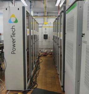 Batterie powerRack® 500kWh pour un site isolé éolien en Allemagne