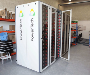 PowerRack® system in 820VDC/500kWh configuration