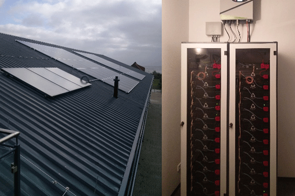 75kWh storage for Building in self consumption