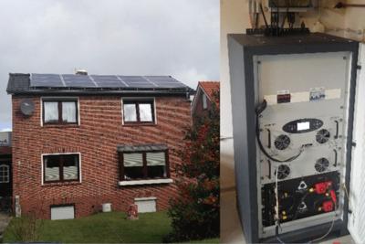 PowerRack 5kWh pour l'autoconsommation de maisons individuelles, Allemagne