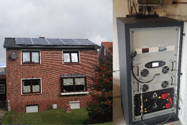 5kWh PowerRack storage for House in Borkum island