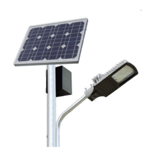Eclairage public à LED avec batteries lithium PowerBrick®