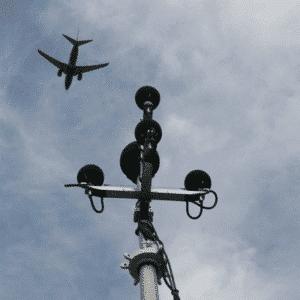 Capteurs de niveaux sonores alimentés par PowerBrick®, Paris