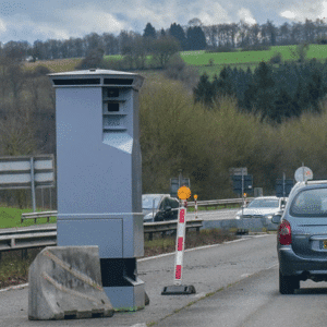 Radar routier équipé de PowerBrick®, Belgique