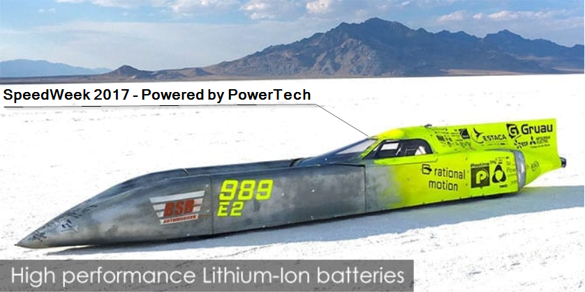 Bonneville-SpeedWeek 2017-StreamLiner-PowerTech-Systems
