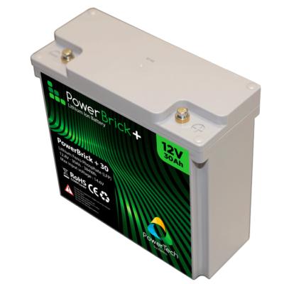 PowerBrick+ 12V-30Ah LiFePO4