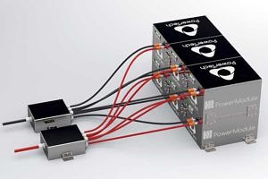 PowerModule - Modular lithium battery pack for traction