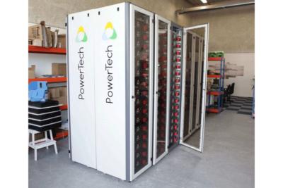 Système PowerRack® pour la régulation de fréquence du réseau (configuration 820VDC/500kWh), Borkum, Allemagne