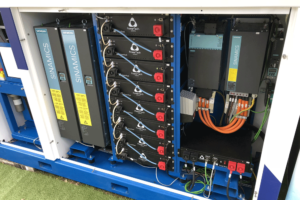 15kWh Powerrack battery for hydrogen fuel cell, France