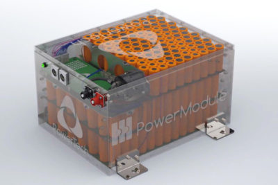 PowerModule : Modular and scalable Lithium-Ion battery system